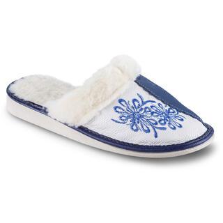 Domácí papuče s vlnou