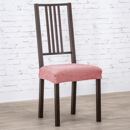 Super strečové potahy NIAGARA korálová, židle 2 ks (40 x 40 cm)