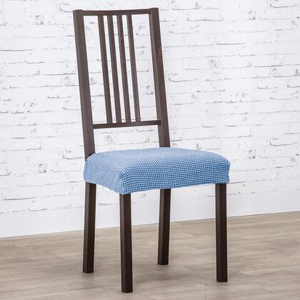 Super strečové potahy NIAGARA modrá, židle 2 ks (40 x 40 cm)