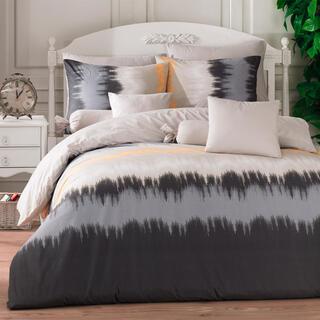 Bavlněné ložní povlečení VIBE šedé, francouzská postel
