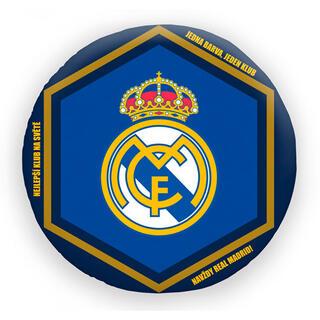 Tvarovaný polštářek FC Real Madrid