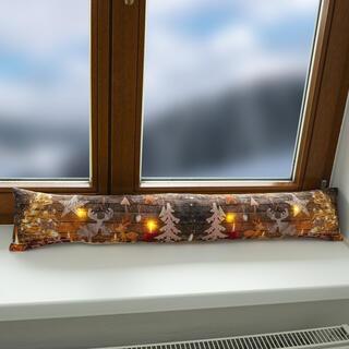 Těsnicí váleček do okna s LED