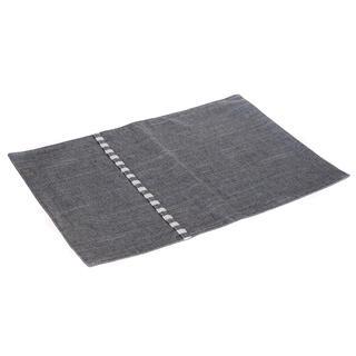 Prostírání textilní DENIM šedé, 30 x 45 cm