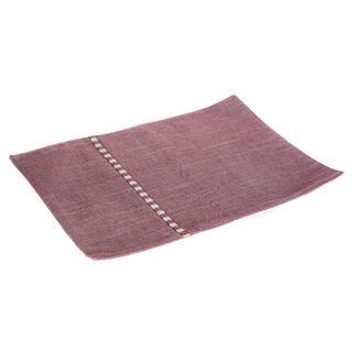 Prostírání textilní DENIM červené, 30 x 45 cm