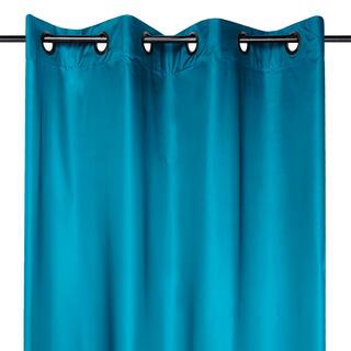 Zatemňovací závěs STOCKHOLM tmavě modrý 140 x 260 cm