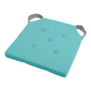 Podsedák na židli DUO UNI se suchým zipem sv. modrá