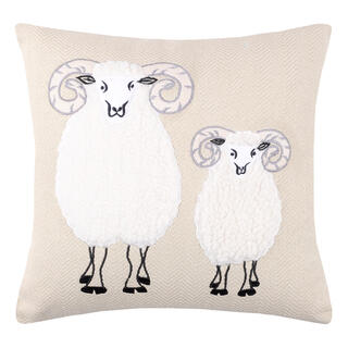 Dekorační polštářek AUNA-ANIDOO 3D ovce 40 x 40 cm