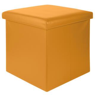 Sedací box ASHTON hořčicová