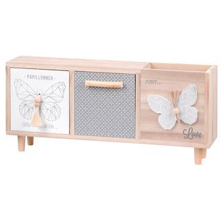 Dekorační skříňka JULIE  motýli