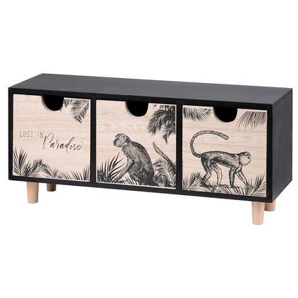 Dekorační skříňka CAMO opice