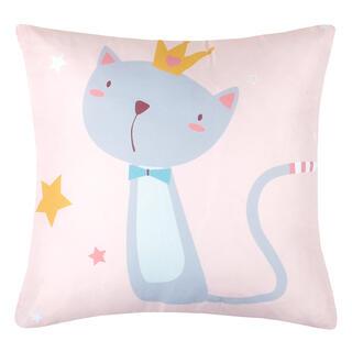 Dekorační polštářek LOUISE kočka 40 x 40 cm