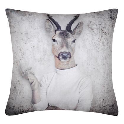Dekorační polštářek ROCKNROLL bílá gazela 40 x 40 cm