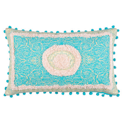 Dekorační polštářek RIAD orient modrá 30 x 50 cm