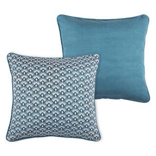 Dekorační polštářek PALMA modrá
