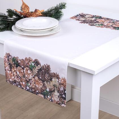 Běhoun na stůl ZLATÉ ŠIŠKY 40 x 90 cm