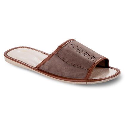 Pánské pantofle s lemem