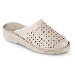 Zdravotní pantofle béžové