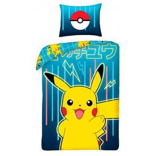 Bavlněné ložní povlečení Pokemon PIKACHU