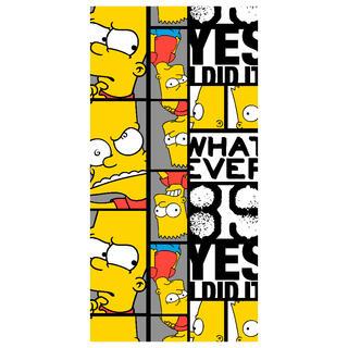 Dětská osuška Bart THE SIMPSONS 70 x 140 cm