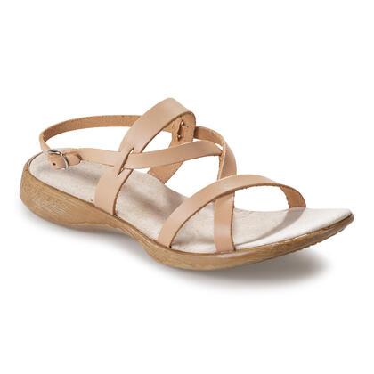 Dámské kožené vycházkové sandály