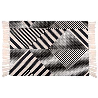 Tkaný kobereček BEELY NOIR