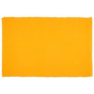 Tkaný kobereček BADIA hořčicová 50 x 80 cm