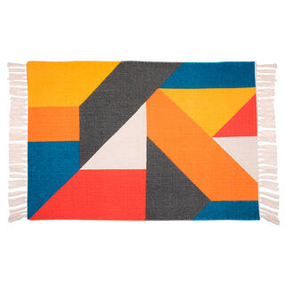 Tkaný kobereček COLORBLOCK 60  x90 cm