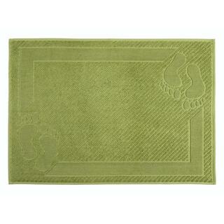 Předložka do koupelny froté MEXICO zelená 50 x 70 cm