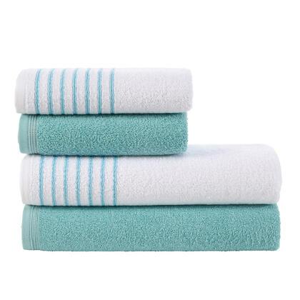 Sada froté  ručníků a osušek  DAVOS tyrkysová 4 ks