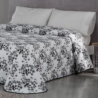 Přehoz přes postel CARLOTA šedý, dvojlůžko