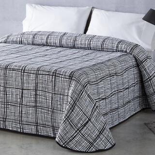 Přehoz přes postel NORMA černý, dvojlůžko