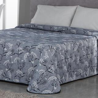 Přehoz přes postel SOCORRO modrošedý