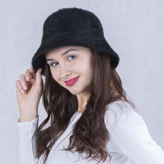 Dámský klobouk ANGORA černý