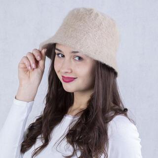 Dámský klobouk  ANGORA béžový