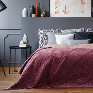 Přehoz na postel LAILA bordó