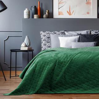 Přehoz na postel LAILA zelená