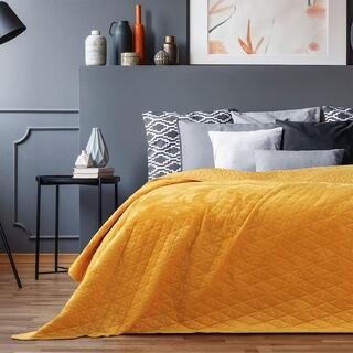 Přehoz na postel LAILA medová