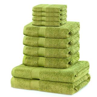 Sada froté ručníků a osušek MARINA kiwi 10 ks