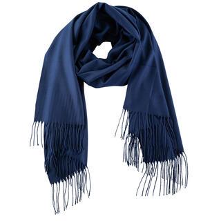 Dámská šála - pašmína tmavě modrá