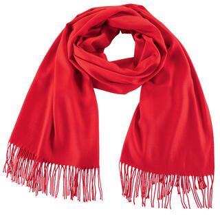 Dámská šála - pašmína červená
