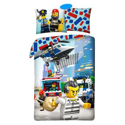 Bavlněné ložní povlečení LEGO CITY