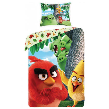 Bavlněné ložní povlečení  ANGRY BIRDS movie