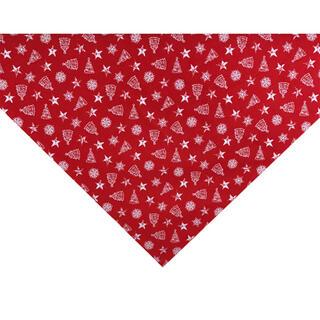 Středový ubrus NADÍLKA červená 65 x 65 cm