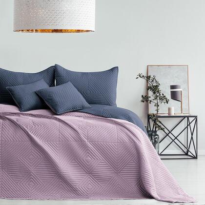 Přehoz na postel SOFTA mauve, dvojlůžko