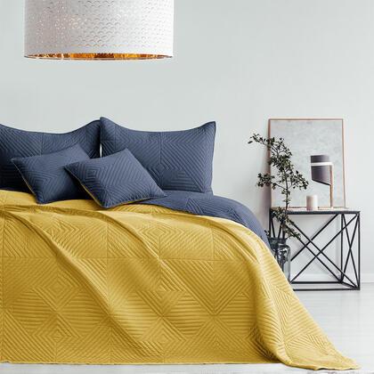 Přehoz na postel SOFTA medová