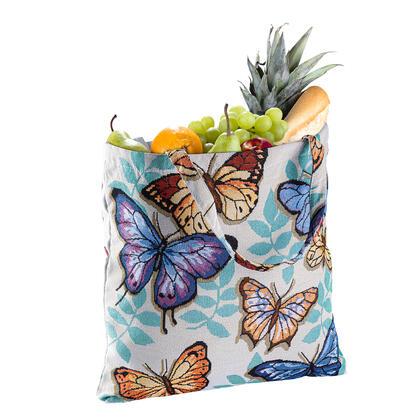 Textilní nákupní taška MOTÝLI