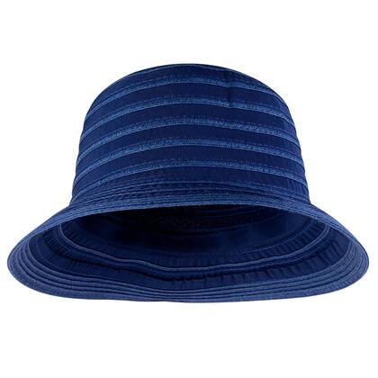 Klobouk dámský letní modrý