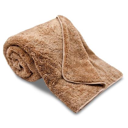 Oboustranná deka OVEČKA čokoláda 150 x 200 cm