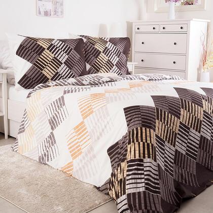 Krepové ložní povlečení PULA, francouzská postel
