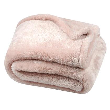 Beránková deka světle růžová 130 x 160 cm